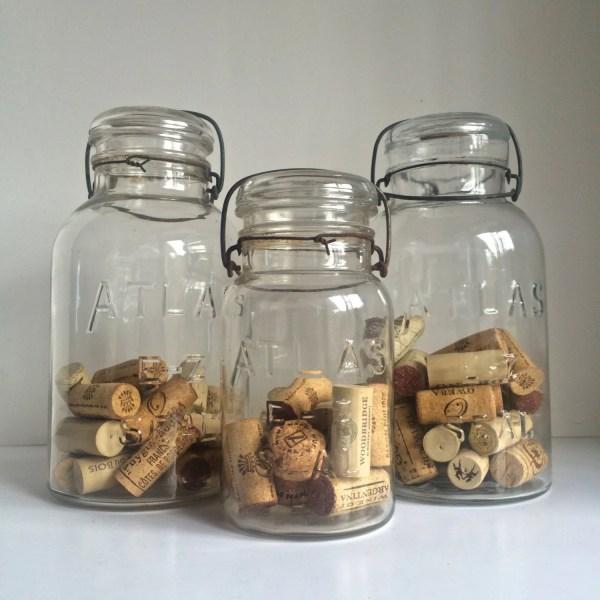 1930s Atlas - Seal Glass Canning Jars