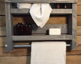 towel racks & rods | etsy