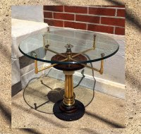 Steampunk Accent Coffee Tables