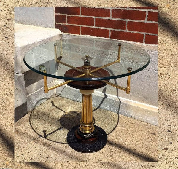 Steampunk Furniture Man Cave Table