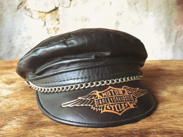 Harley Davidson Vintage Leather Cap