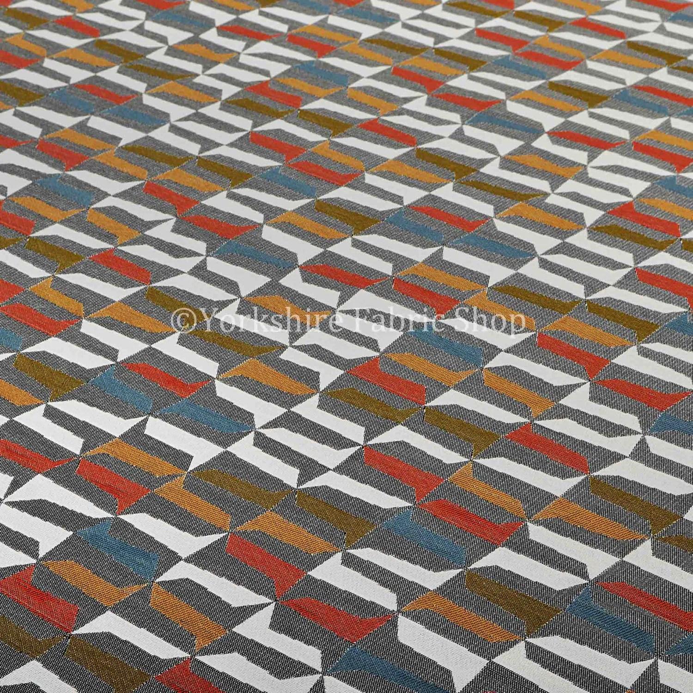 houndstooth sofa fabric sofas clasicos estilo ingles quality soft woven jacquard chenille grey orange