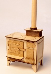 1:24 scale miniature dollhouse furniture by