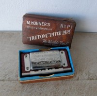 HOHNER'S TRUTONE PITCHPIPE in Original Box for Violin