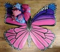 Butterfly Door Hanger Spring door hanger wreath hand