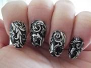 swirls nail art swrl clear
