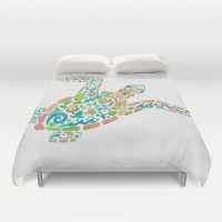 Sea Turtle Duvet Cover or Comforter Surf Turtle
