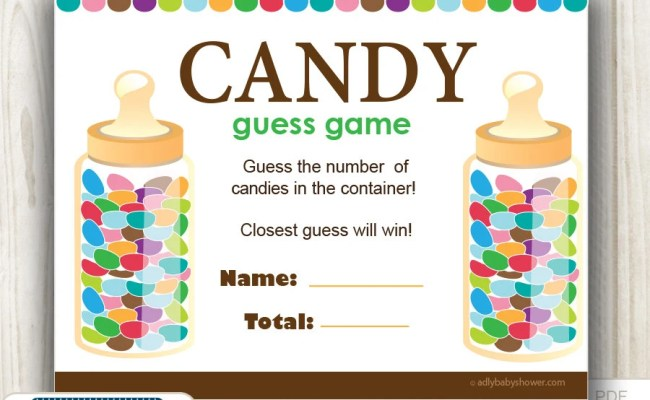 Candy Bottle Game Etsy