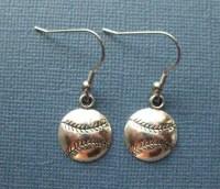 Baseball Earrings Dangle Earrings Sports Earrings