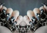 stilettos chain fake nails