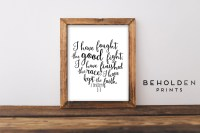 Scripture Print Bible Verse Wall Art Christian Wall Art