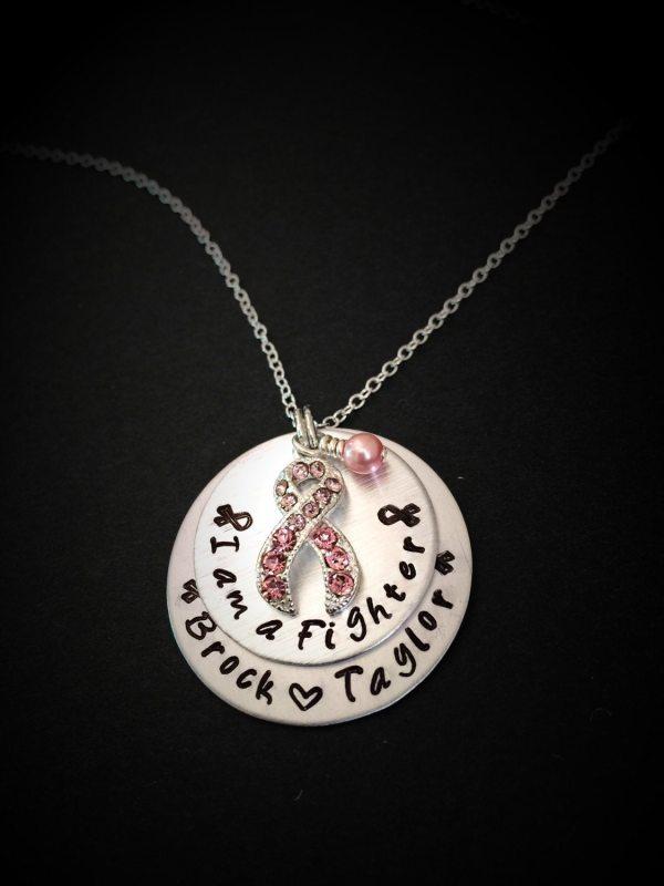Breast Cancer Jewelry-cancer Awareness Necklace-survivor