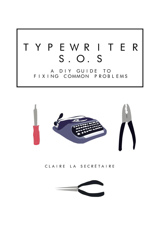 Items similar to Typewriter Repair E-Course : The DIY