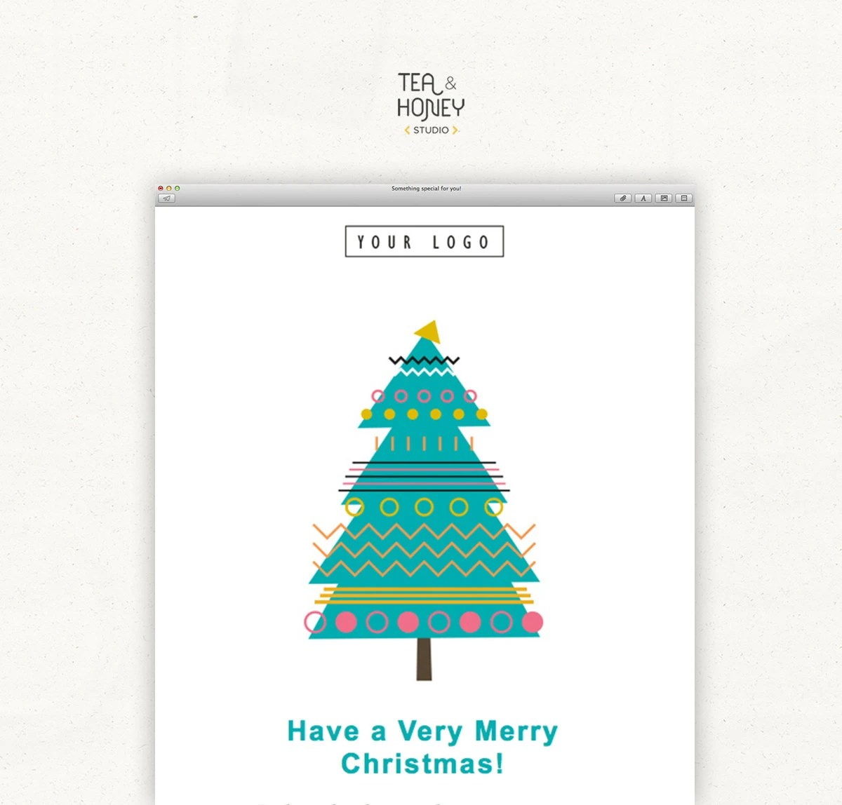 Create Digital Christmas Card Email Christmas Card 2018