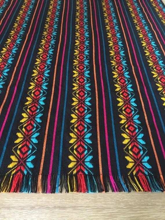 Mexican fabric tablecloth placemats napkins or table runner