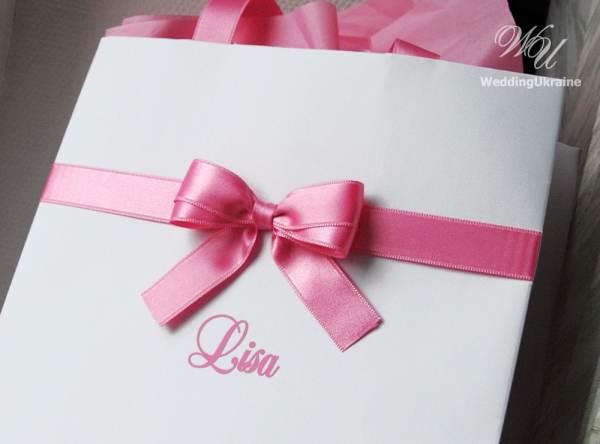 Personalized Gift bags Bridesmaid39s Gift bag Bridal