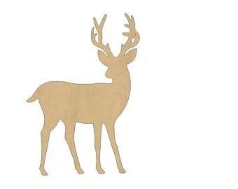 Reindeer cutouts Etsy