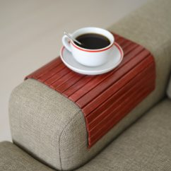 Sofa Arm Tray Wood Soft Suede Slipcover Table Handmadesofa Trayarmrest Traysofa