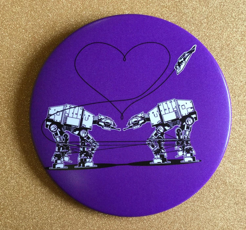 At At Magnet Purple Star Wars Magnet Fridge Magnet