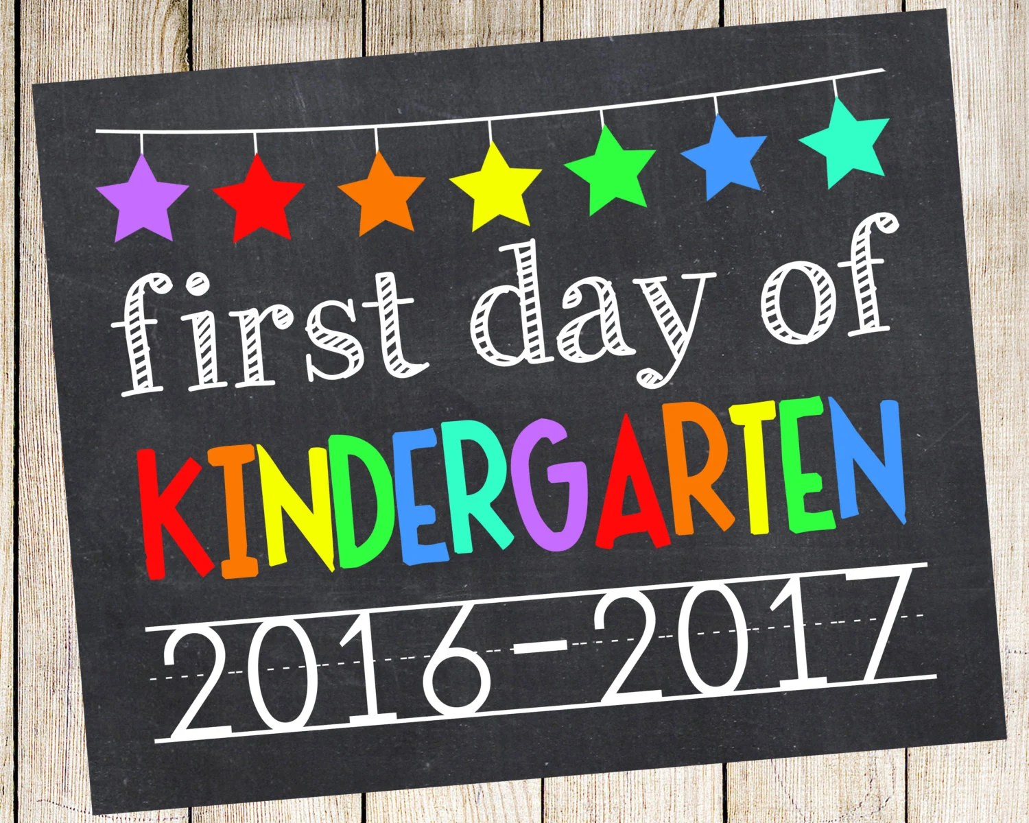 First Day Of Kindergarten First Day By Princesssnap