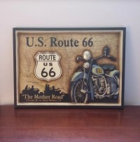 Route 66 Indian Motorcycle The Mother Road by ...