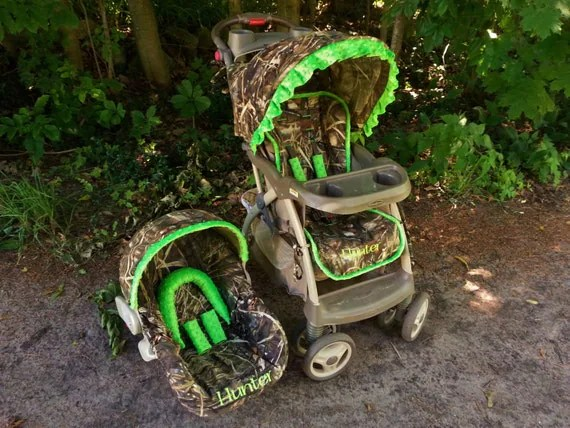 Camo Stroller Cover and Infant Seat Cover Combo Universal