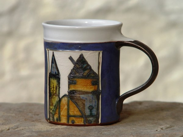 Large Coffee Mug 16 oz Pottery Mug Ceramic Mug Tea Mug