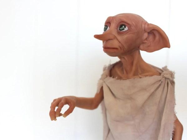 Harry Potter Dobby House Elf Art Doll Polymer Clay