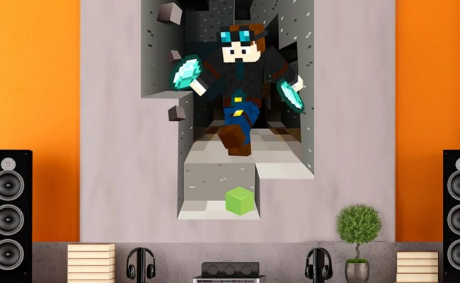 Vinyl Wall Decal Wall Decor Minecraft Inspired By Minerscave