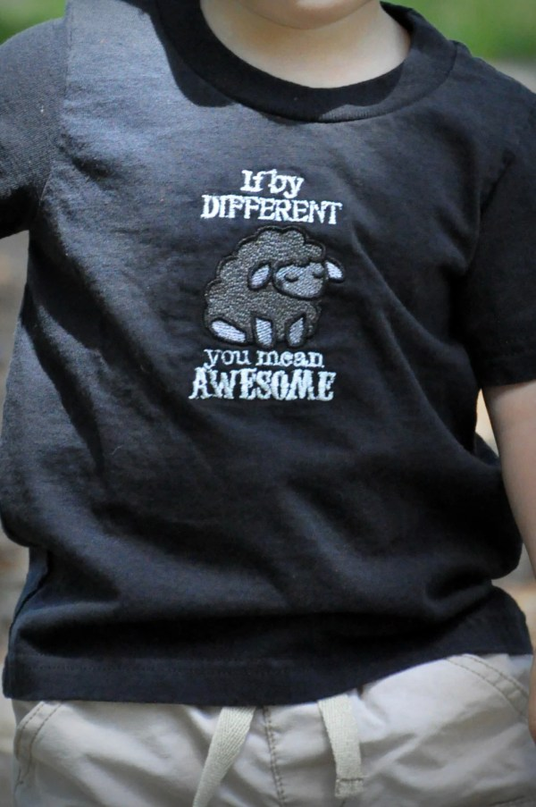 Awesome Black Sheep T-shirt Infants