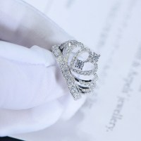 Princess Crown Promise Ring Accent Tiara Rings for her Man