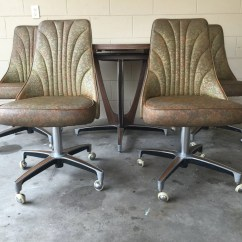 Chromcraft Chairs Vintage Chair Louis Xv Reserved Mid Century Retro Dining Set