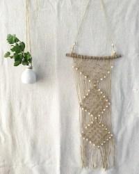 Macrame wall hanging Hemp rope wall decor Wall hanging by ...