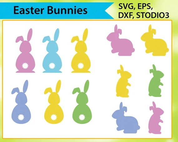Download Easter Bunny Svg Svg files for silhouette cameo cricut