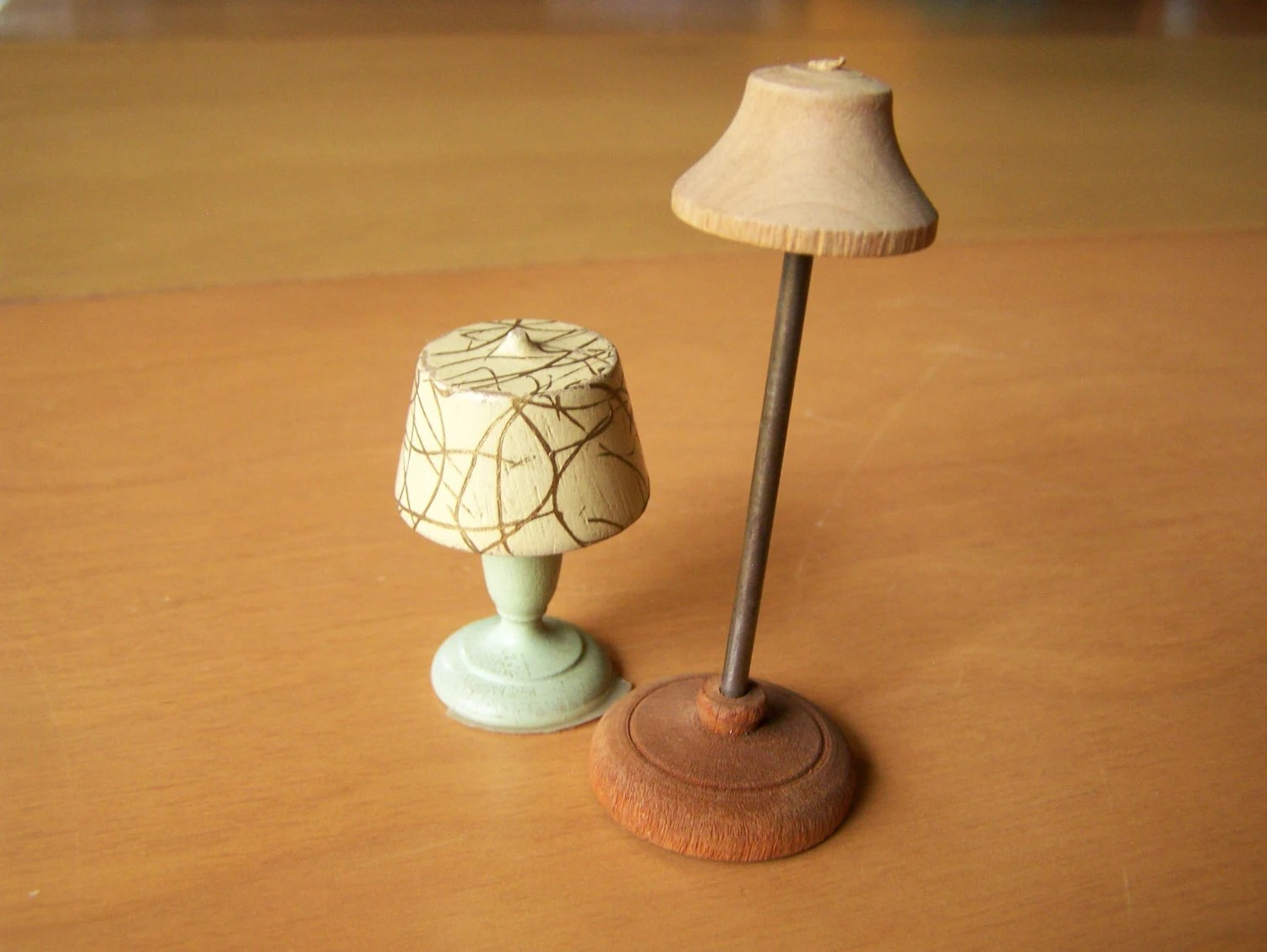 Vintage Dollhouse Furniture – Strombecker lamps – 1 floor ...