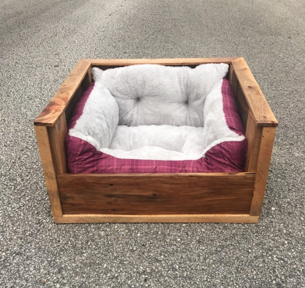 Small Dog Bed Pallet Wood