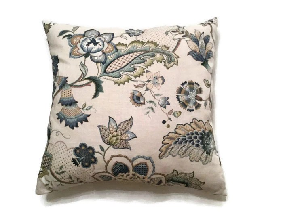 Designer Decorative PillowBlue Throw PillowLuxury