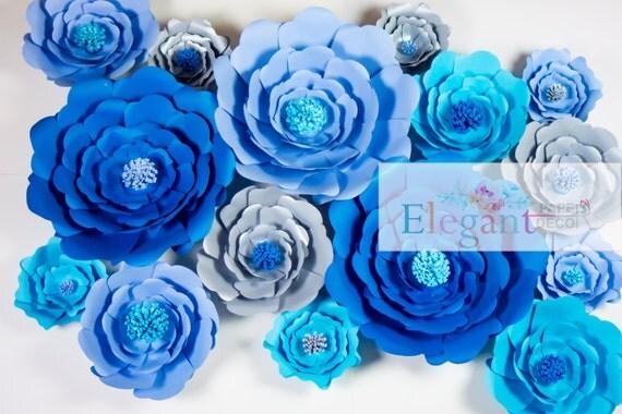 Giant Paper Flowers/ Paper Flower Bakdrop/ Wedding Backdrop/