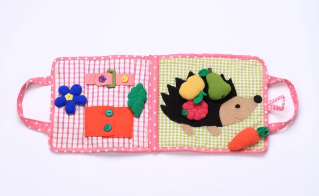 Quiet Book Toys For 1 Year Old Quiet Book Hedgehog By