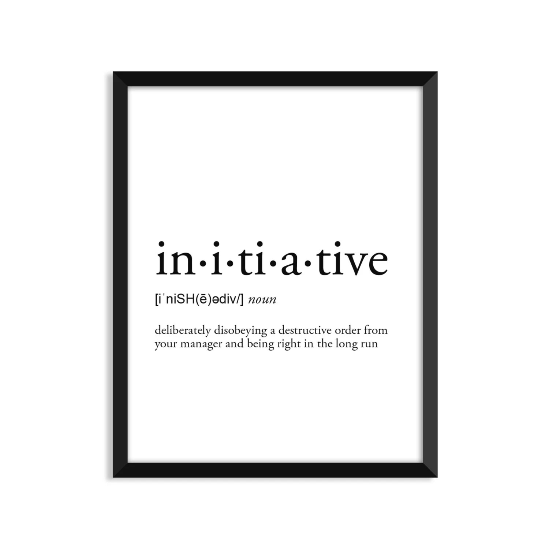 dictionary art print