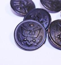 Ww2 Australian Military Forces Brass Button Losttreasure