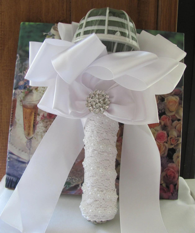 Bridal Bouquet Holder, Wedding Bouquet Holder. DIY Bridal