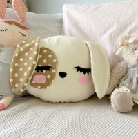 Dog Pillow Nursery Decor Kids room Dog Cushion Kawaii Dog