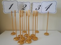 TABLE NUMBER HOLDERS Extra Tall Wedding Card Holder Stand