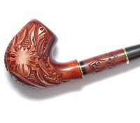 Smoking pipe wooden Handmade Wood carved smoking pipe by ...