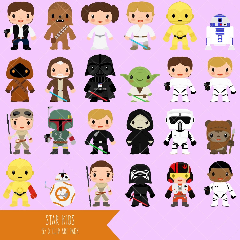 Star Kids Clipart Star Wars