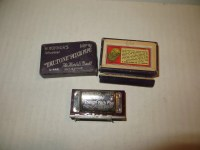 M. Hohner's Trutone Pitch Pipe No. P10 Ukelele Harmonica