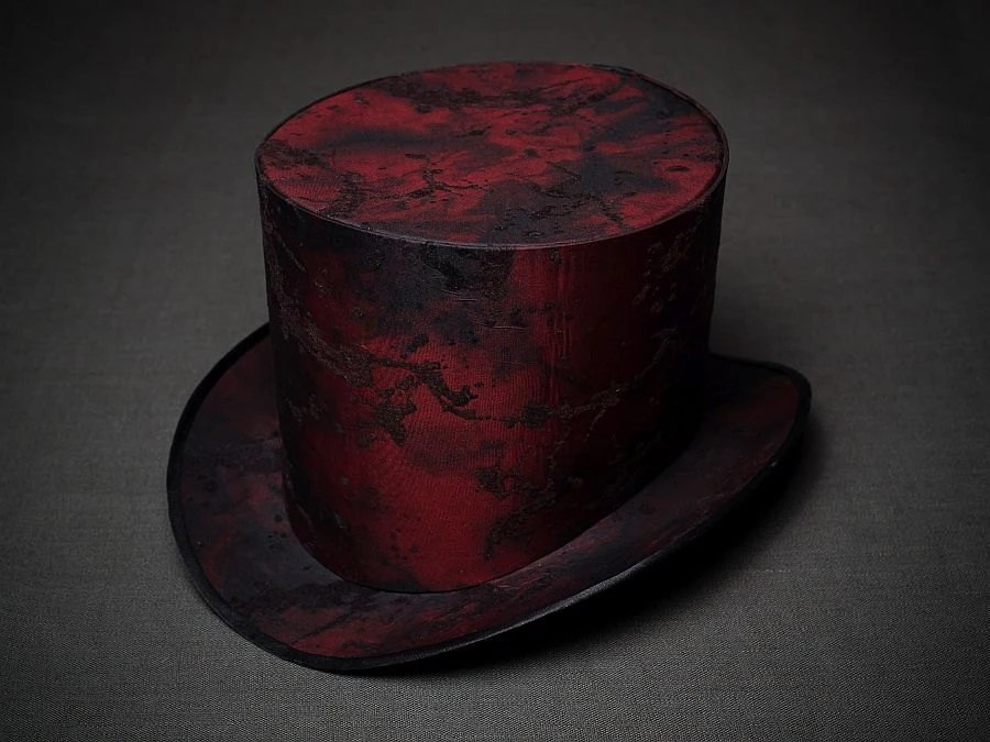 BASIS for making STEAMPUNK Top Hat Women Mad Hatter Hat Alice