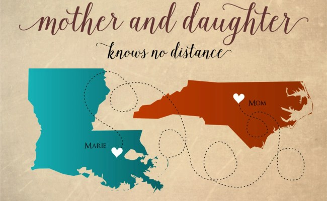 Mother S Day Gift Long Distance Mother By Darmellagraphics