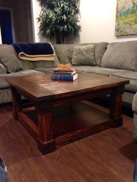 Coffee Table Craftsman Style Coffee Table by FickleAndFellow
